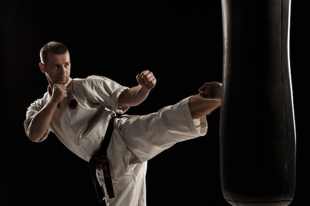 Okrągły Karate W Worku Treningowym Darmowe Zdjęcia