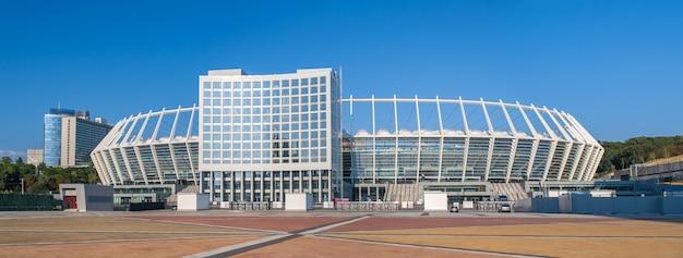 Olimpijski Narodowy Kompleks Sportowy W Kijowie Na Ukrainie Premium Zdjęcia