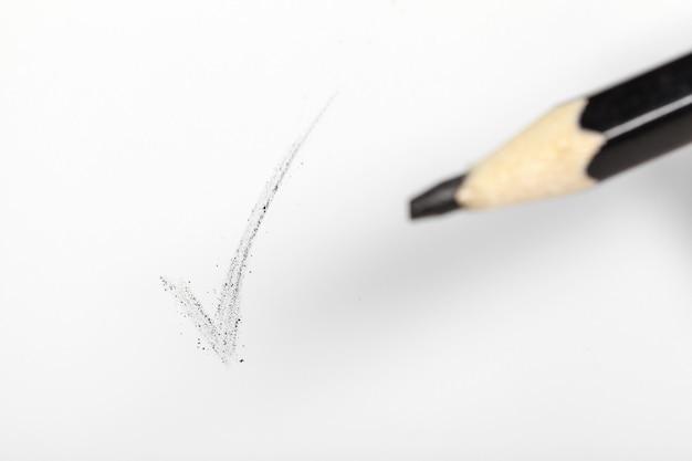 Ołówek z bliska Premium Zdjęcia