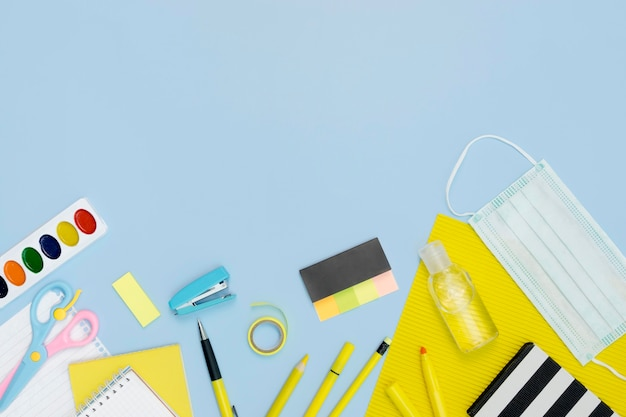 Ołówki Szkolne Z Maską Medyczną Darmowe Zdjęcia