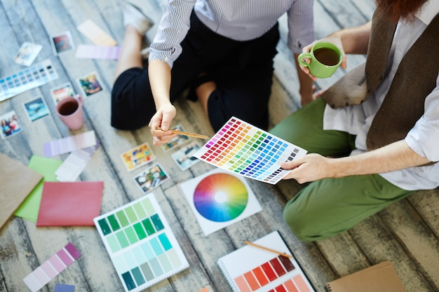 Omawianie Kolorów Darmowe Zdjęcia