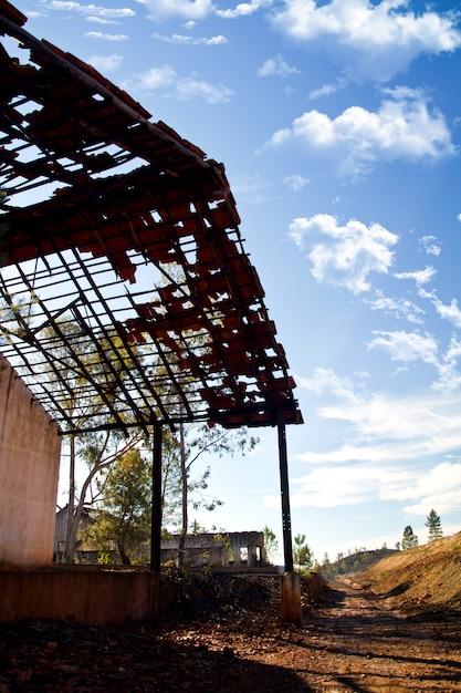 Opuszczony Zakład Górnictwa Przemysłowego Premium Zdjęcia