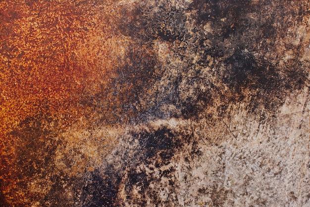 Ośniedziała metal tekstura dla tła Darmowe Zdjęcia