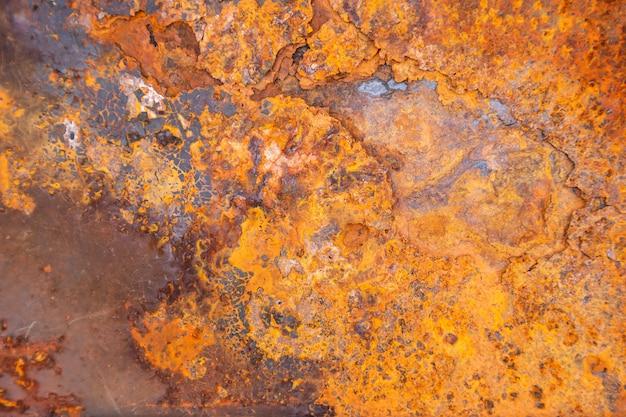 Ośniedziały Metal Tekstury Tło Dla Wewnętrznej Zewnętrznej Dekoraci I Przemysłowego Budowa Projekta. Premium Zdjęcia