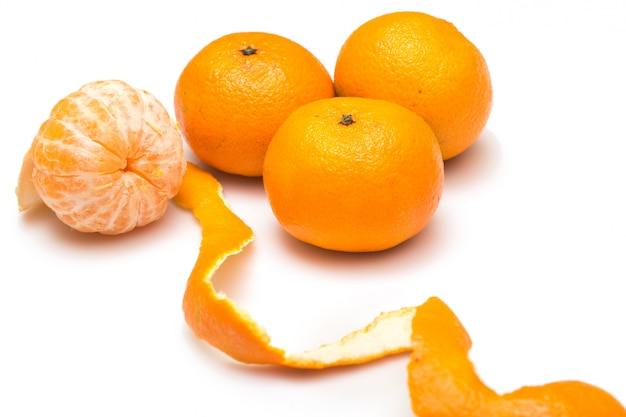 Owoc mandarynki lub tageriny Premium Zdjęcia