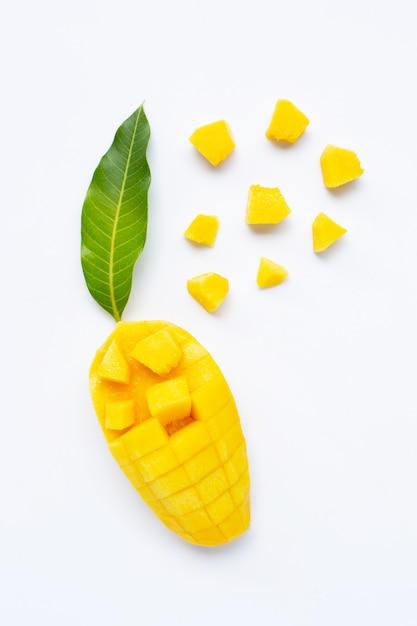 Owoce tropikalne, mango Premium Zdjęcia