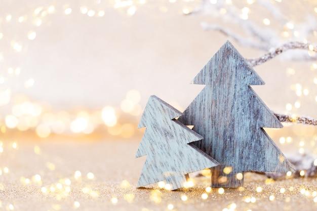 Ozdoby świąteczne Na Stole Premium Zdjęcia
