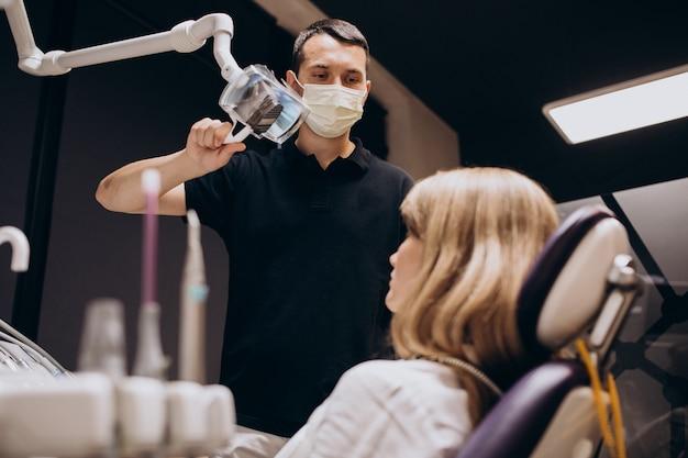 Pacjent Odwiedzający Dentystę Darmowe Zdjęcia