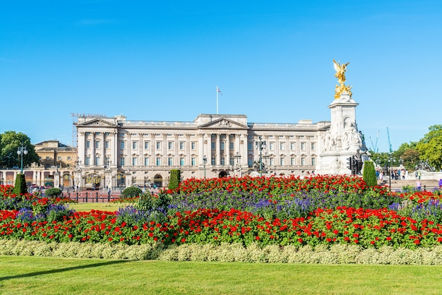 Pałac Buckingham W Londynie, Wielka Brytania Premium Zdjęcia