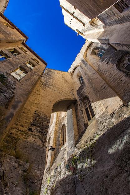 Palais Des Papes W Avignon, Francja Premium Zdjęcia