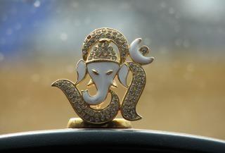 Pana ganesha - bóg indian Darmowe Zdjęcia