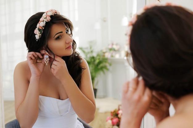 Panna Młoda W Dniu ślubu Darmowe Zdjęcia