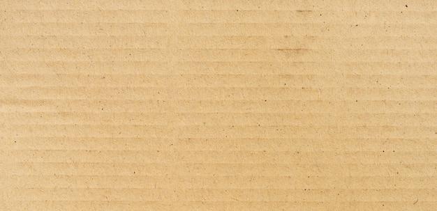 Panorama brown papieru textureand tekstura z kopii przestrzenią i tło Premium Zdjęcia