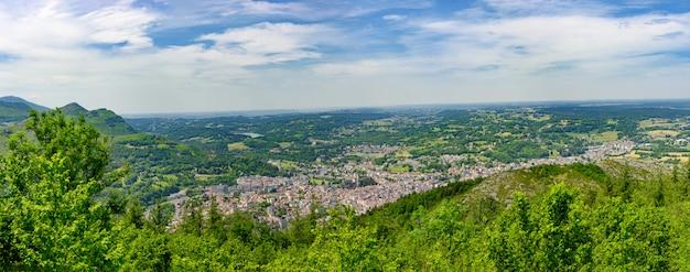 Panorama Miasta Lourdes Premium Zdjęcia
