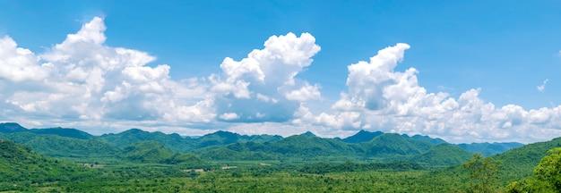Panorama pejzaż natura Premium Zdjęcia