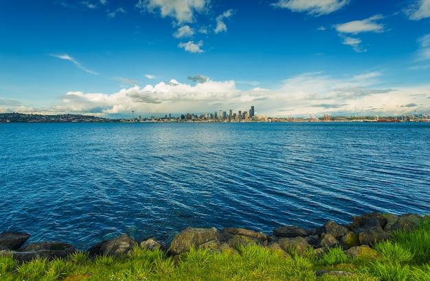 Panorama Seattle Skyline Darmowe Zdjęcia
