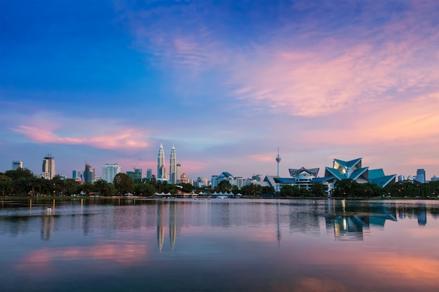 Panoramę Kuala Lumpur Premium Zdjęcia