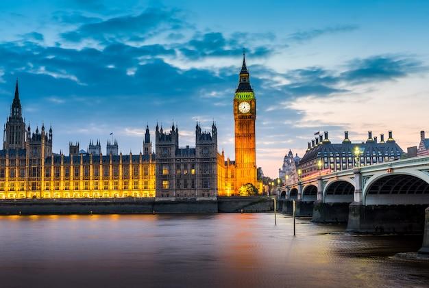 Panoramę miasta londyn Premium Zdjęcia