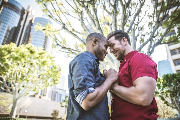 Para Homoseksualna Randki Premium Zdjęcia
