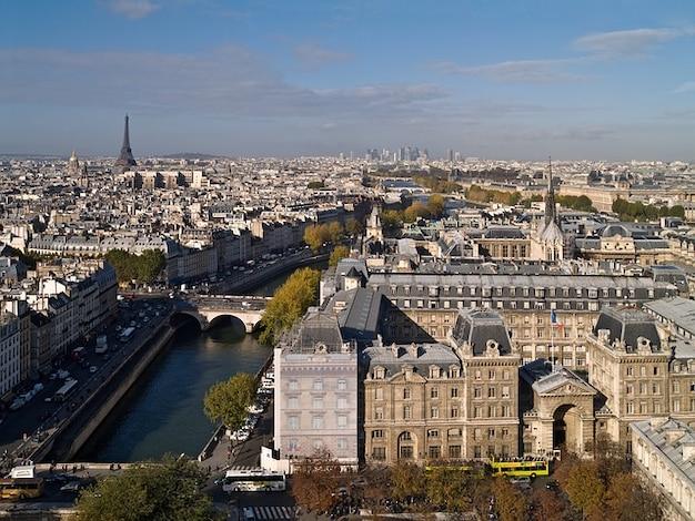 Paris pomnik architektura eiffel wieża notre dame Darmowe Zdjęcia