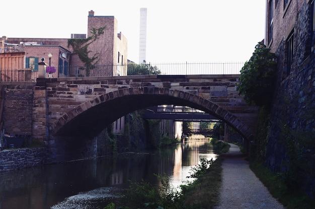 Park Narodowy Chesapeake And Ohio Canal Dc Premium Zdjęcia