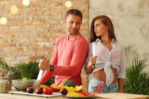 Pary Kulinarni Warzywa W Kuchni Darmowe Zdjęcia