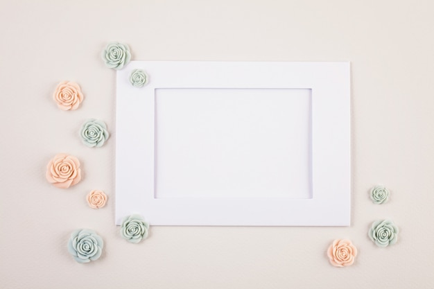 Pastelowe dekoracyjne minimalne tło Premium Zdjęcia