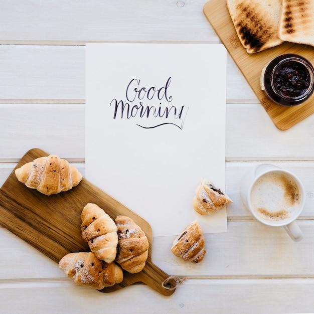 Pełne śniadanie i szablony Darmowe Zdjęcia