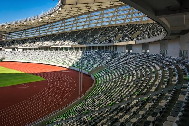 Perspektywy Miejsc Na Stadionach Premium Zdjęcia