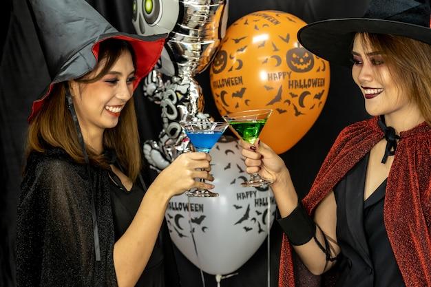 Picie halloween party Premium Zdjęcia
