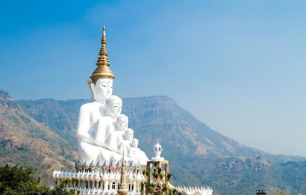 Pięć statua buddy Darmowe Zdjęcia