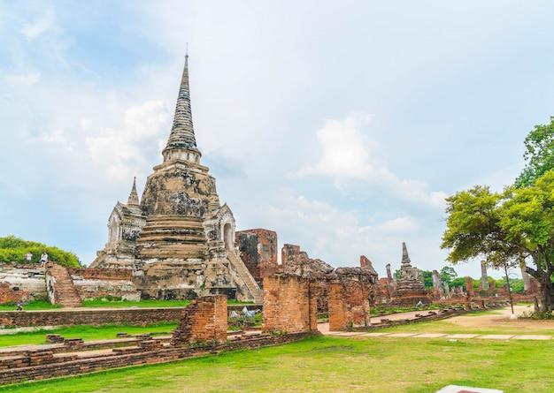 Piękna architektura zabytkowej ayutthaya w tajlandii Darmowe Zdjęcia