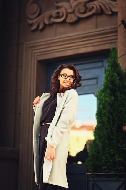 Piękna biznesowa kobieta Premium Zdjęcia