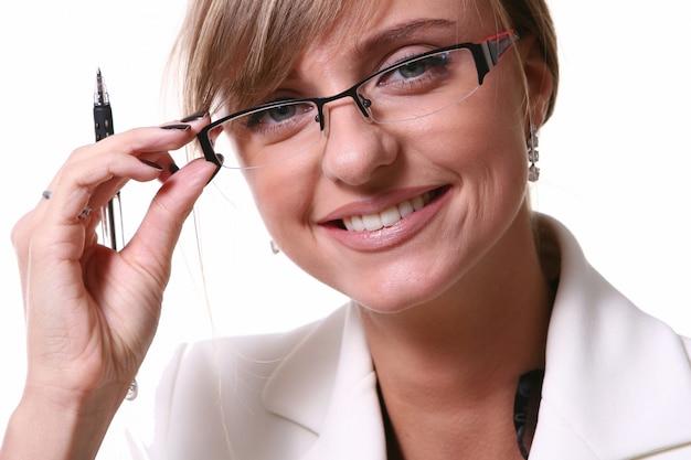 Piękna blond kobieta biznesu Darmowe Zdjęcia