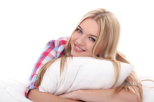 Piękna blondynka Darmowe Zdjęcia