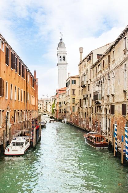 Piękna Romantyczna Wenecja Premium Zdjęcia