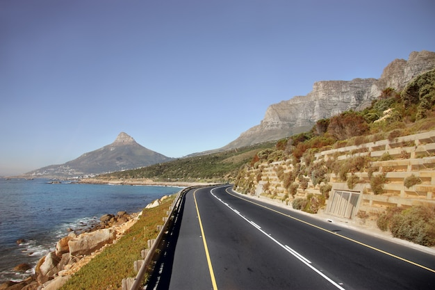 Piękna Ulica Cape Town Premium Zdjęcia