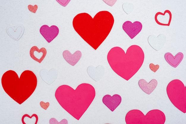 Piękne Kolorowe Serca Dla Dziecka Darmowe Zdjęcia