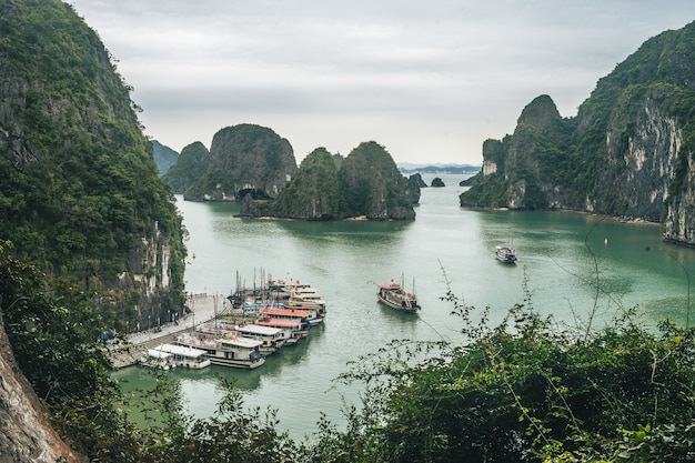 Piękne Miejsce Ha Long Bay Darmowe Zdjęcia