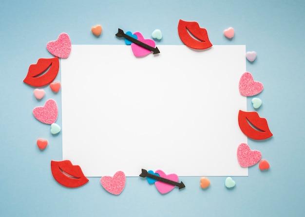 Piękne Walentynki Koncepcja Z Miejsca Na Kopię Darmowe Zdjęcia
