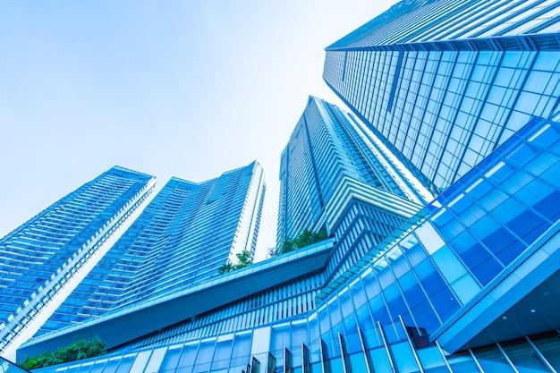 Pięknej architektury biznesowego budynku biurowa powierzchowność Darmowe Zdjęcia