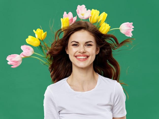 Piękni Młodzi Ludzie Modelują Pozować, Piękna Pojęcie, Moda Portret Premium Zdjęcia