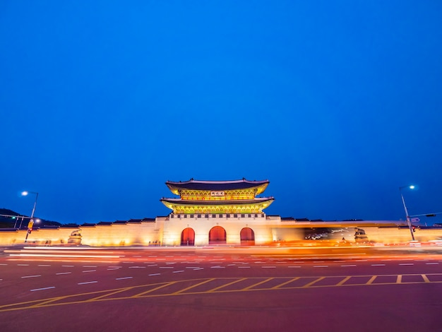 Piękny Architektura Budynek Gyeongbokgung Pałac Darmowe Zdjęcia