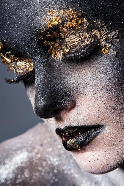 Piękny, Artystyczny Makijaż Darmowe Zdjęcia
