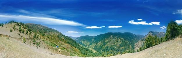 Piękny Górski Krajobraz Premium Zdjęcia