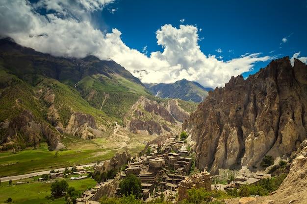 Piękny Krajobraz Azji Premium Zdjęcia