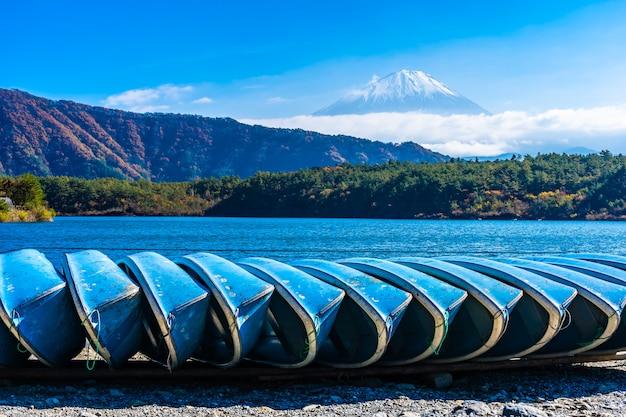 Piękny krajobraz górski fuji Darmowe Zdjęcia