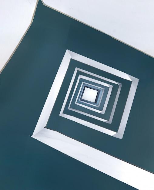 Piękny Kwadratowy Niekończący Się Spiralny Wzór Darmowe Zdjęcia