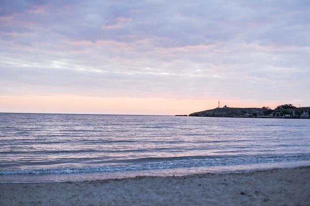 Piękny Oceanu Krajobrazu światła Dziennego Widok Darmowe Zdjęcia