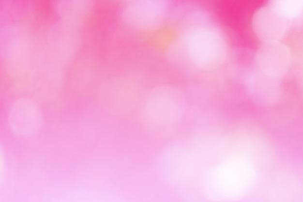 Piękny Różowy Bokeh Nieostry Premium Zdjęcia